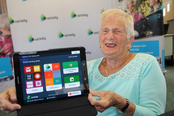 Tech-savvy seniors