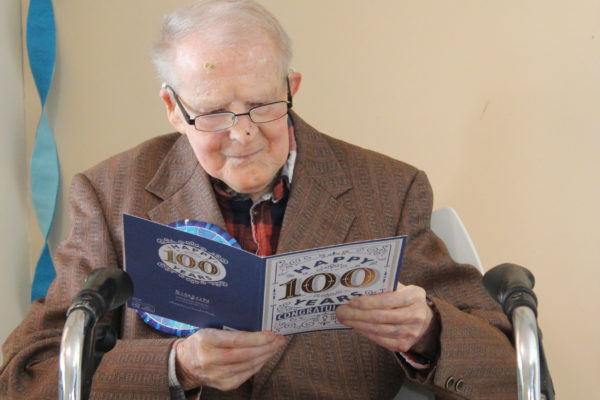 Faith and selflessness key to Harold's 100 years