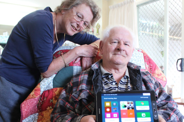 Technology helping Samuel to overcome barriers