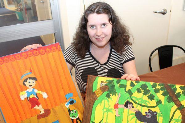 Rachel flourishing through art
