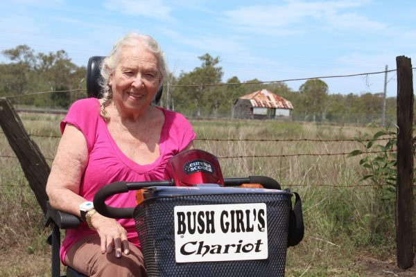 'Bush girl' feeling confident in everyday living
