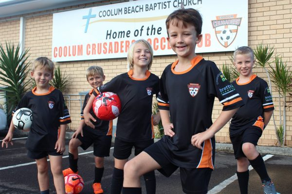 Coolum church kicking goals with support from Carinity