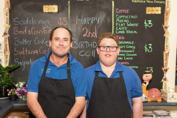 Carinity café serves up work skills and hope